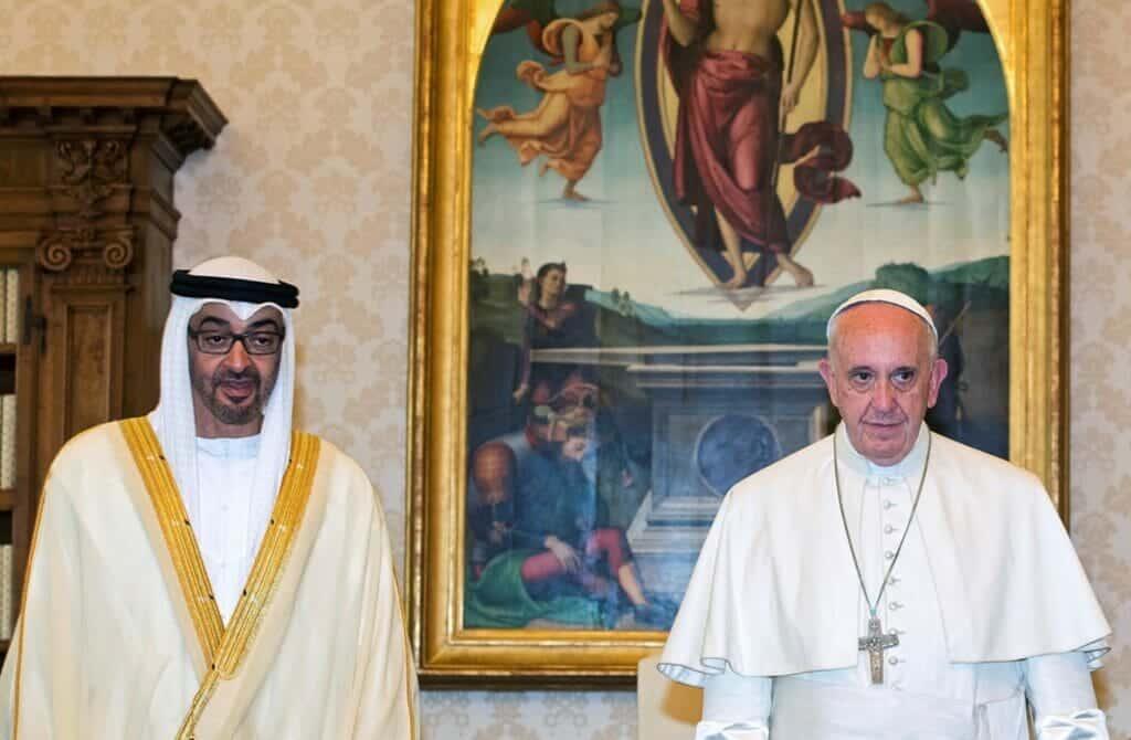 """سيلتقي زعماء يهود.. هذا هو """"سر"""" زيارة بابا الفاتيكان لأبوظبي وهذا ما يخطط له """"شيطان العرب"""""""