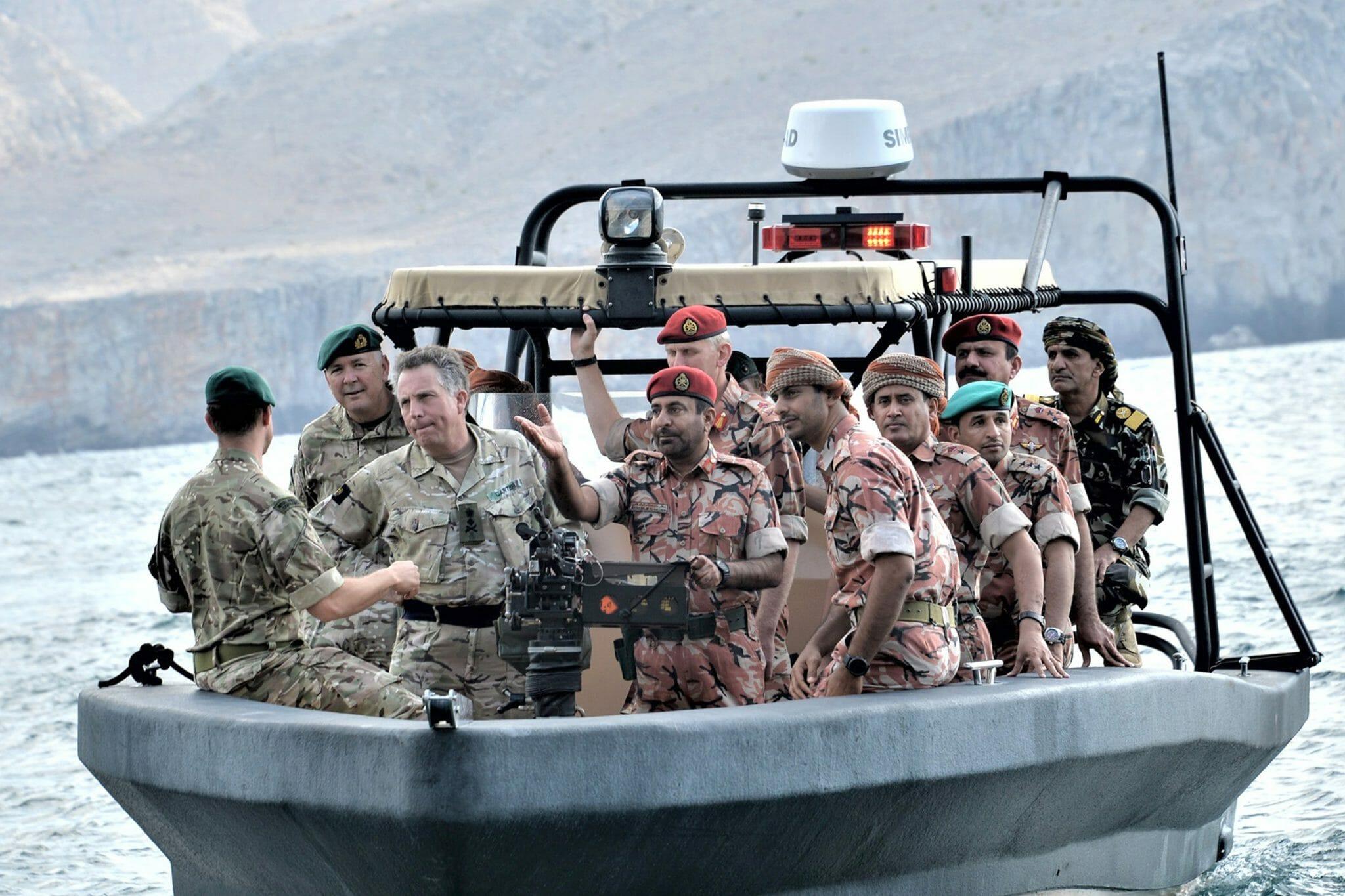 تمرين عسكري مشترك