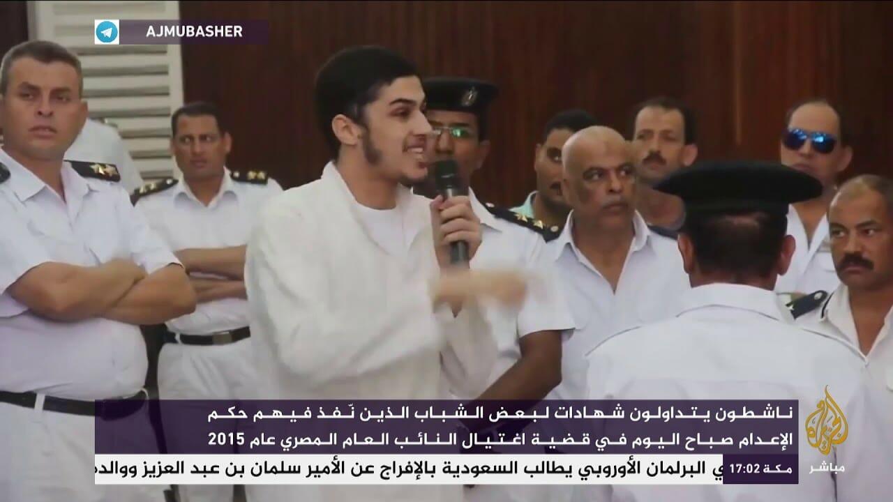 عبد الرحمن سليمان الذي أعدمه السيسي