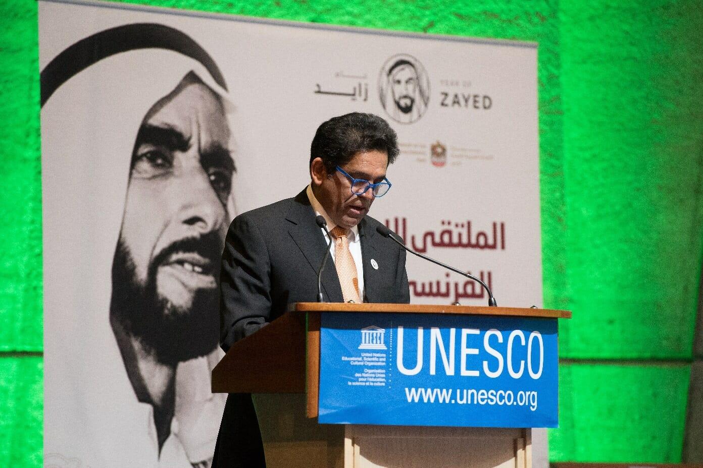 مندوب الإمارات في اليونسكو عبد الله النعيمي