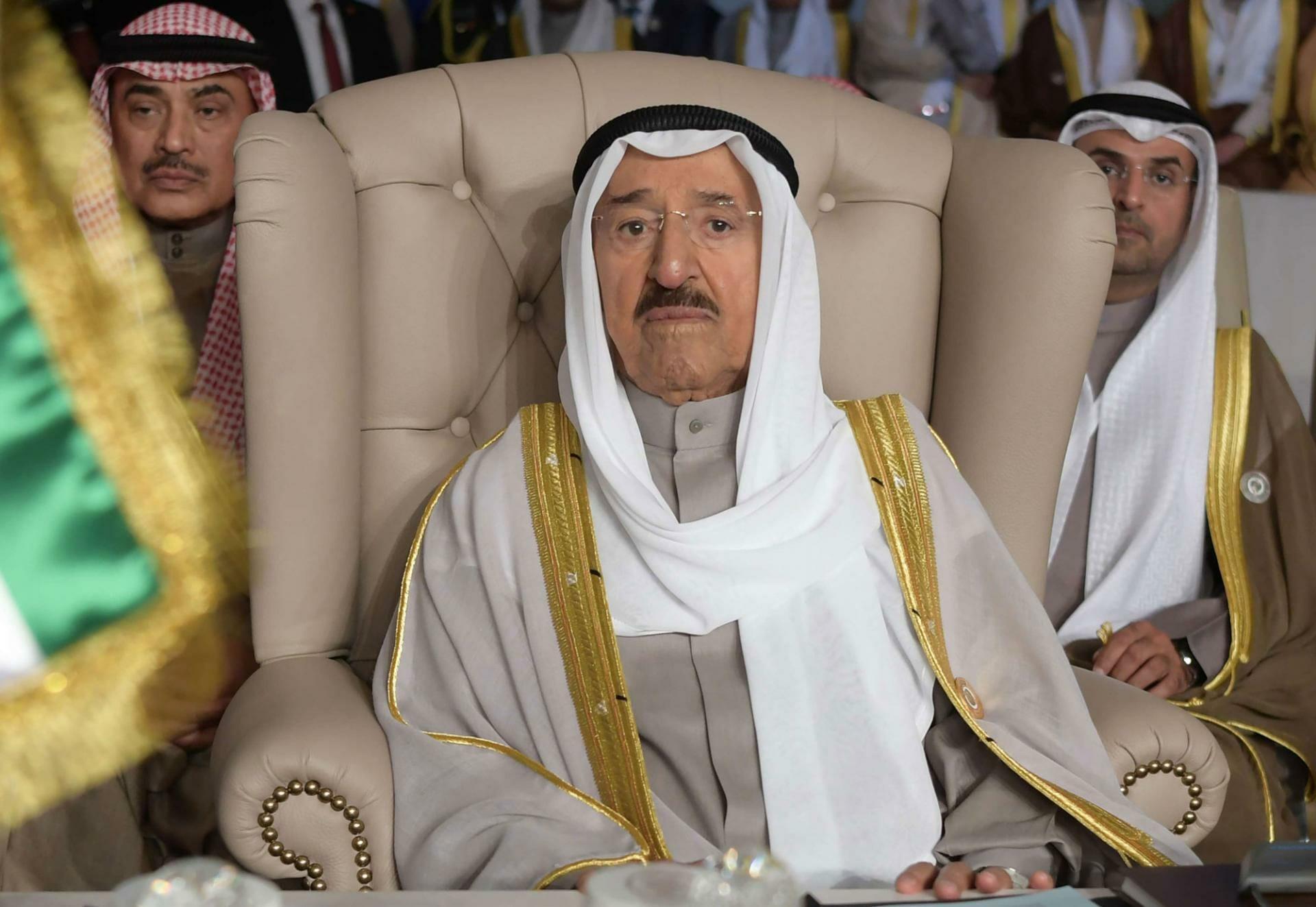 أمير الكويت الراحل صباح الاحمد