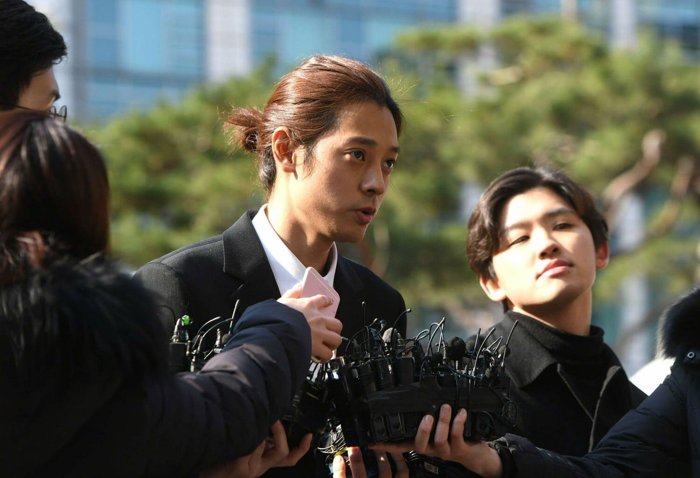 الفنان الكوري جونغ جون يونغ