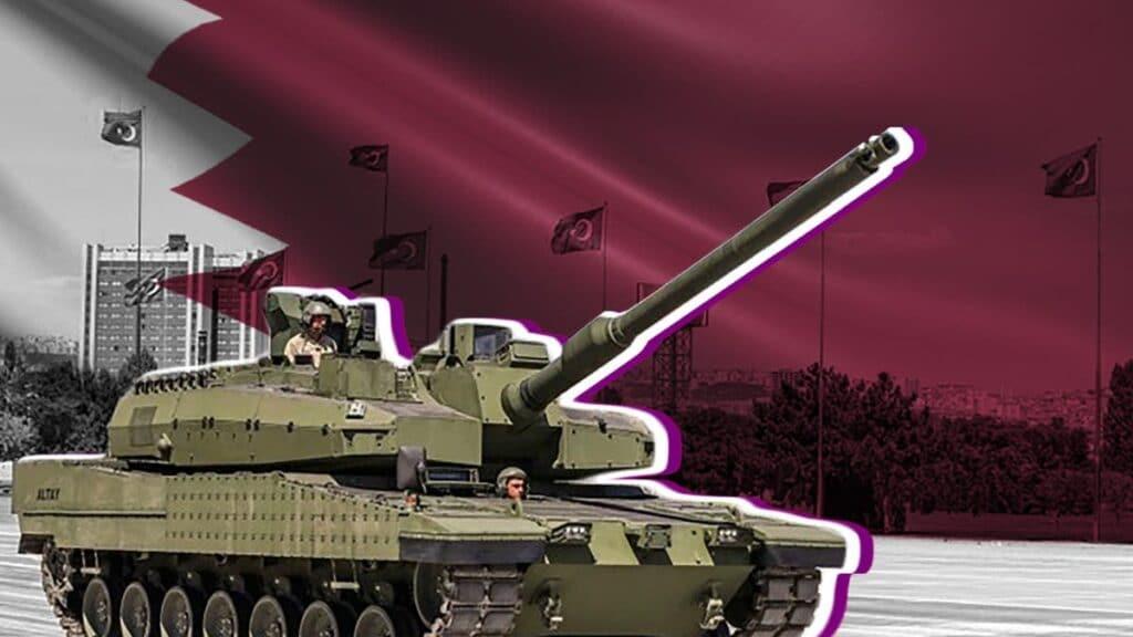 دبابة قطر