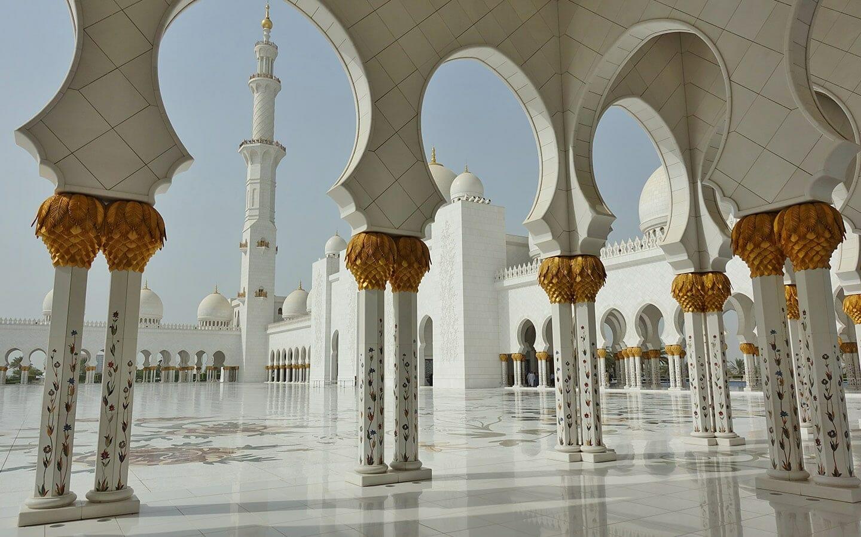 ساحة مسجد الشيخ زايد