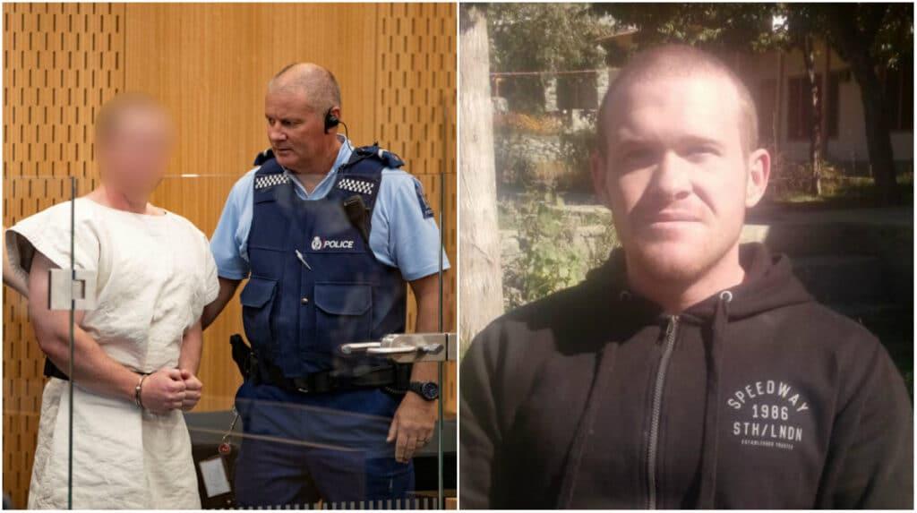 """""""شاهد"""" هكذا ظَهَرَ سفاح نيوزيلندا أمام المحكمة .. وهذا ما قرّرته بشأنه"""