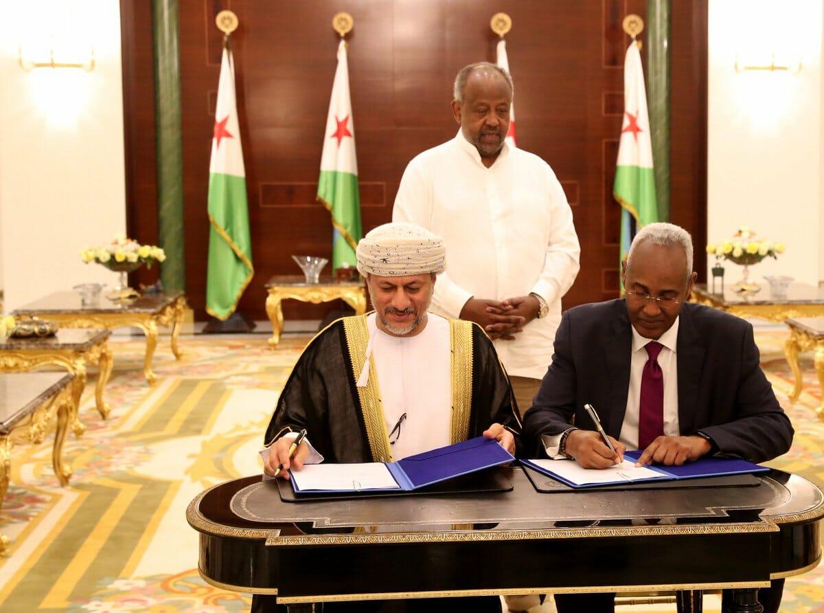 سلطنة عُمان مع جيبوتي