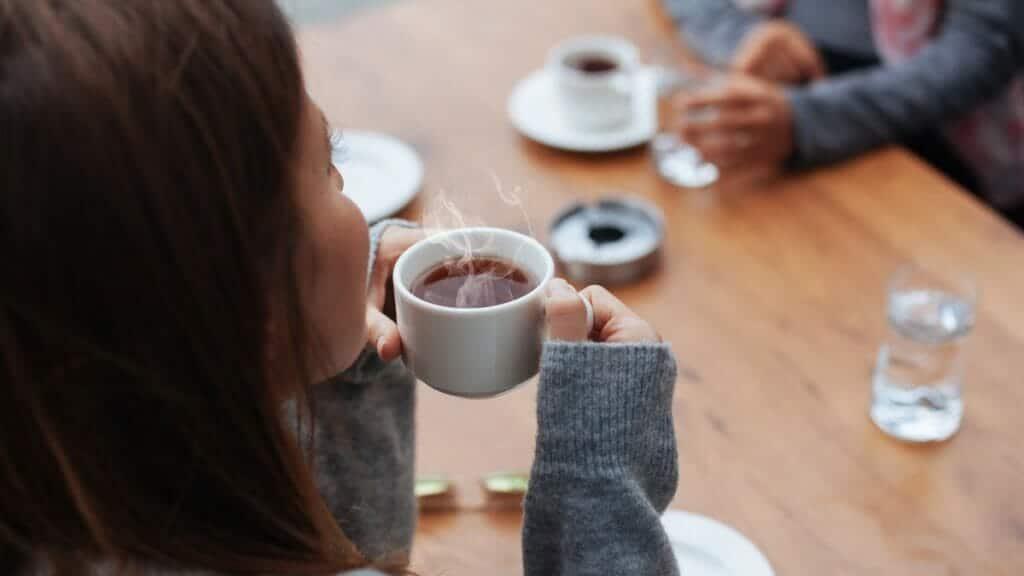 شاي وقهوة
