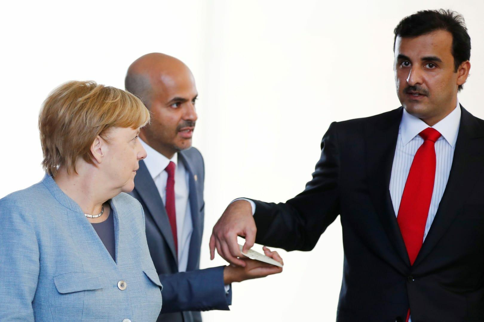 قطر تعارض صفقة مصرفية ضخمة في ألمانيا