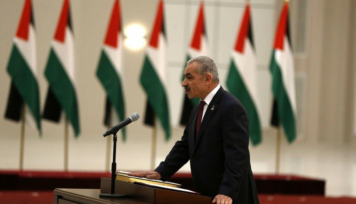 الحكومة الفلسطينية الجديدة اشتيه
