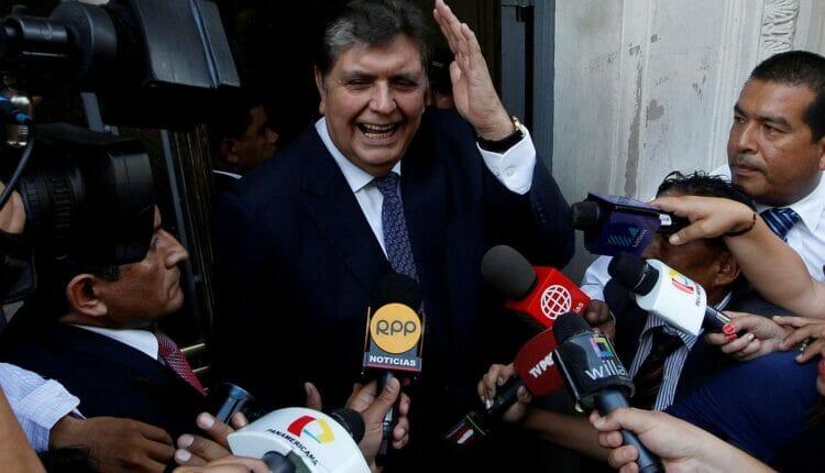 الرئيس بيرو السابق آلان جارسيا