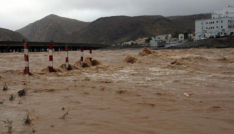 الفيضانات بسلطنة عمان
