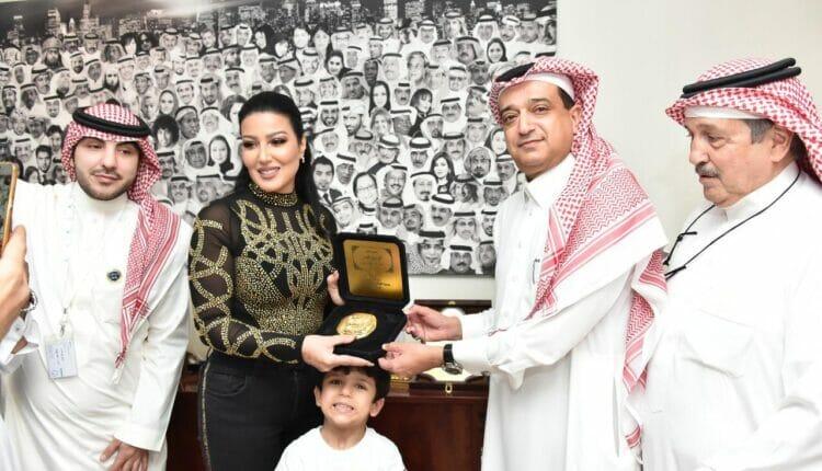 تكريم السعودية لسمية الخشاب