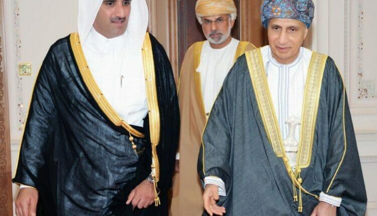 حمد بن ناصر المسند وفهد بن محمود آل سعيد