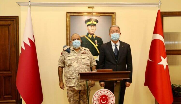 رئيس أركان القوات المسلحة القطري، الفريق الركن طيار غانم بن شاهين الغانم يزور تركيا