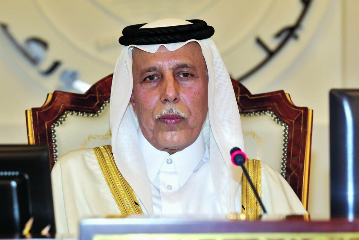 """""""شاهد"""" رئيس مجلس الشورى القطري يدحض أكاذيب دول الحصار حول اجتماعات الاتحاد البرلماني الدولي في الدوحة"""