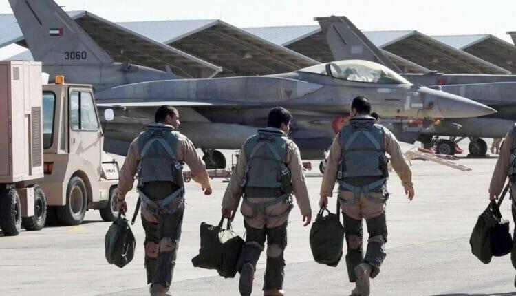 سلاح الجو الإماراتي يشارك إسرائيل تدريباتهما الجوية