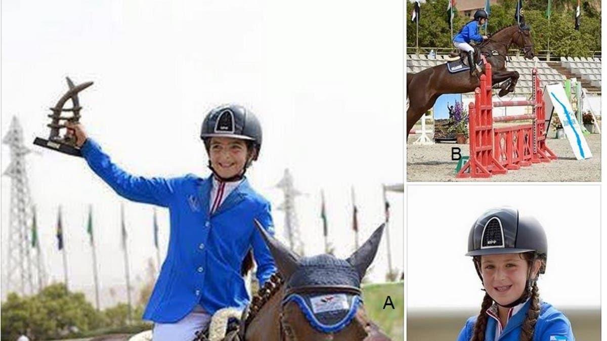 ابنة ماهر الأسد تثير سخرية واسعة.. فازت بالمركزين الأول والثاني في بطولة للفروسية ولو شاركت بحصان ثالث لفازت أيضا!