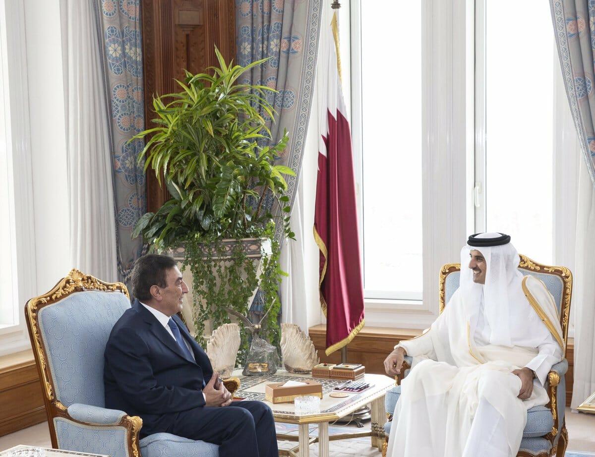 رسالة من ملك الأردن وصلت إلى أمير قطر عبر مبعوث خاص.. هذه تفاصليها