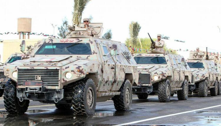 مدرعات وأسلحة إماراتية ضمن غنائم ثوار ليبيا من قوات خليفة حفتر