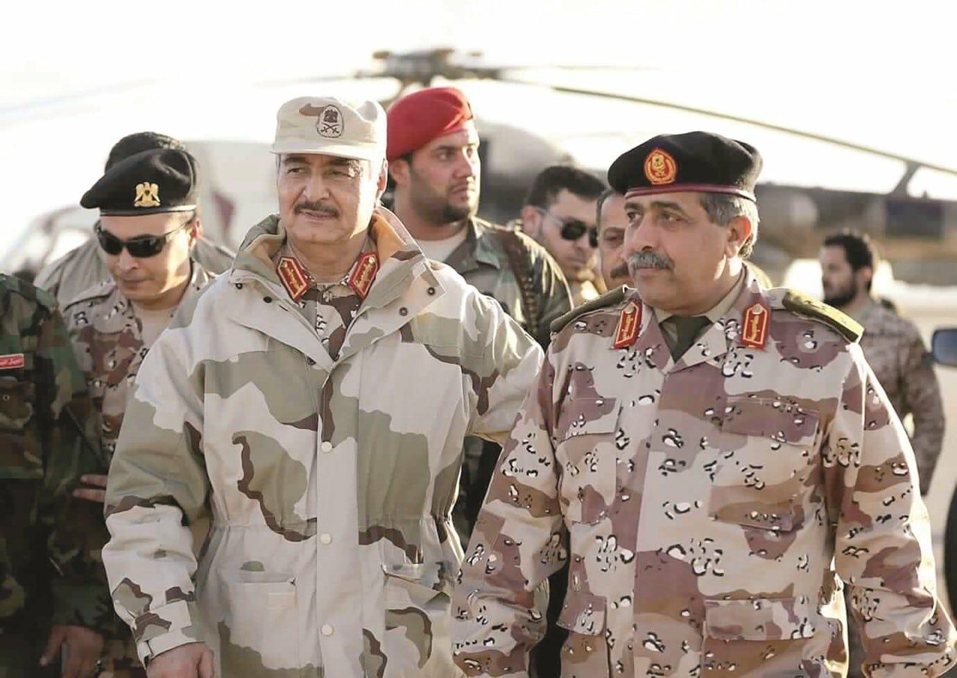 """""""شاهد"""" سكاي نيوز الإماراتية تعترف بإنهيار مليشيات حفتر وهروبها من مطار طرابلس"""