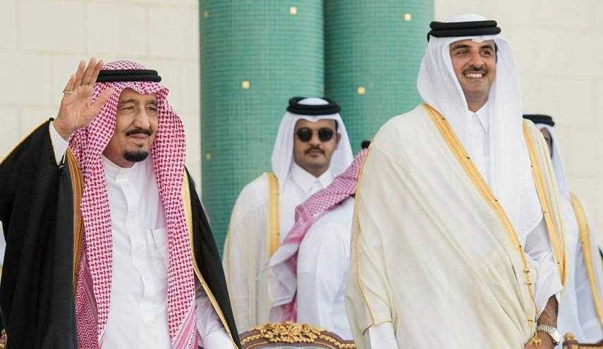 الملك سلمان وتميم