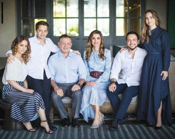 عائلة عبد الله الثاني