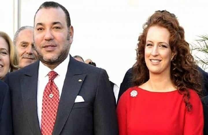 محمد السادس و الأميرة سلمى