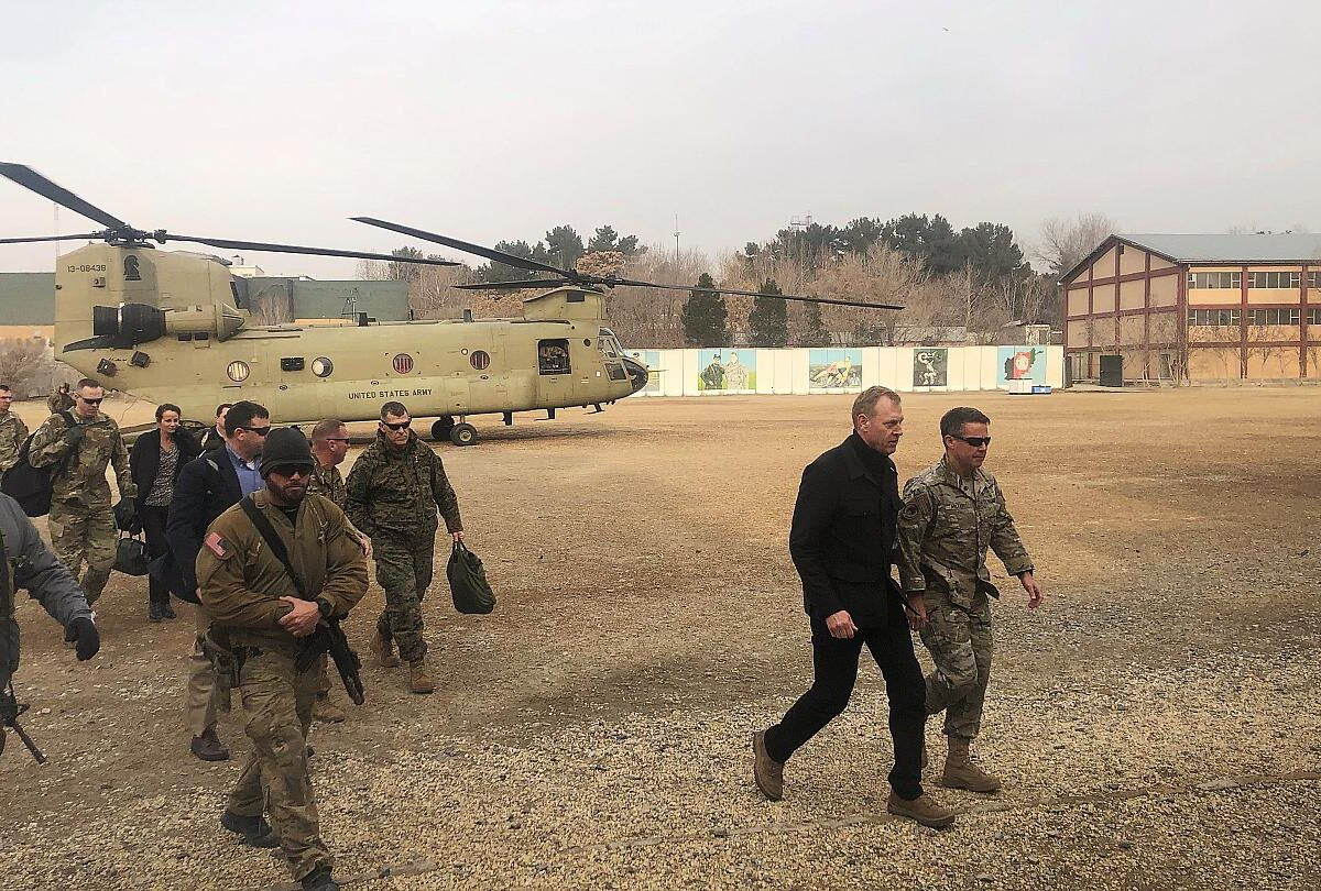 وزير الدفاع الأمريكي باتريك شاناهان