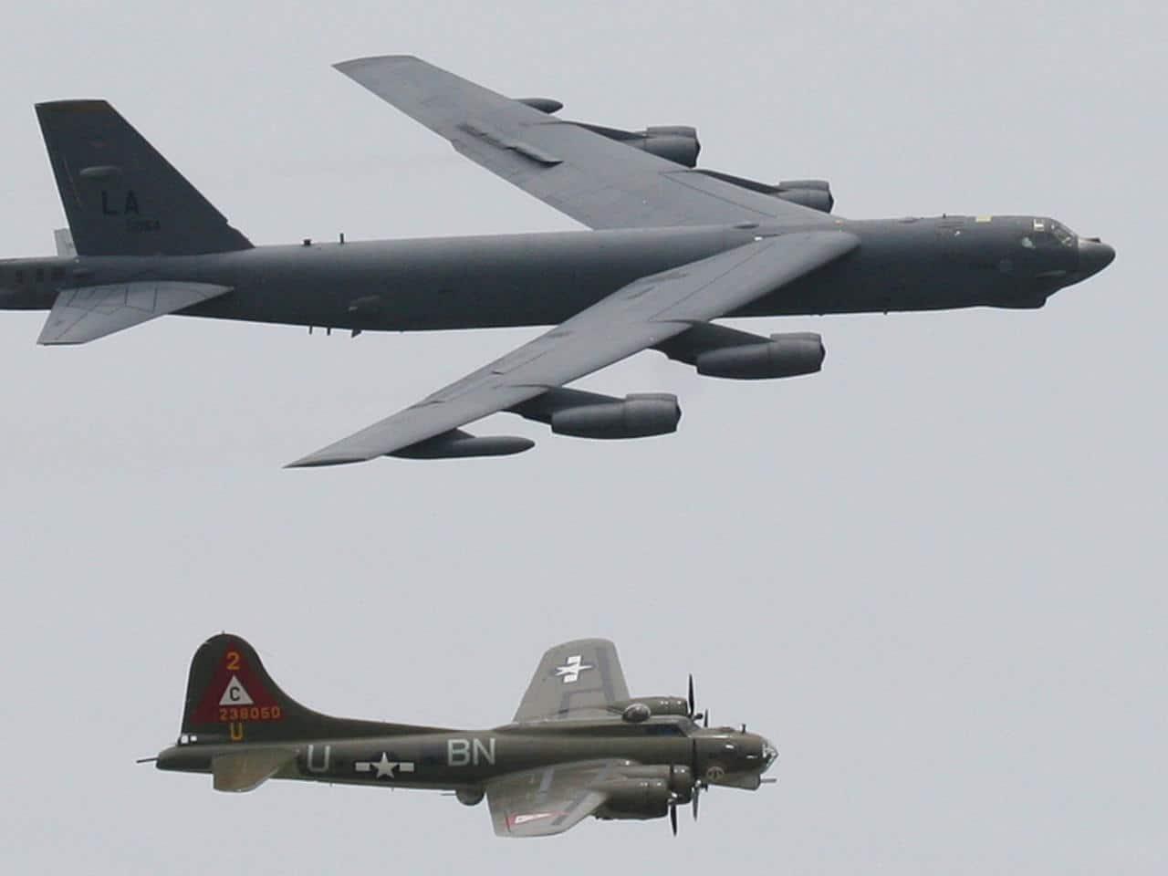 """معلومات لا تعرفونها عن قاذفات القنابل """"بي52"""" التي أرسلتها أمريكا للشرق الأوسط لمواجهة إيران"""