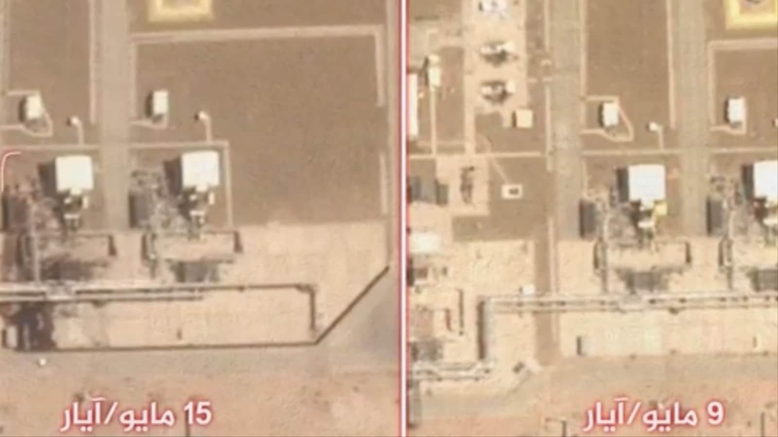 """""""شاهد"""" صور أقمار صناعية خاصة تكشف عن أضرار بالغة لحقت بـ""""أرامكو"""" جراء القصف الحوثي"""