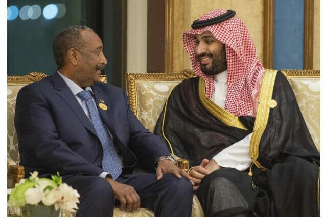 عبد الفتاح البرهان ومحمد بن سلمان