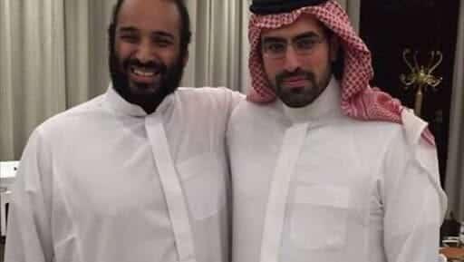 محمد بن سلمان والامير سلمان بن عبدالعزيز