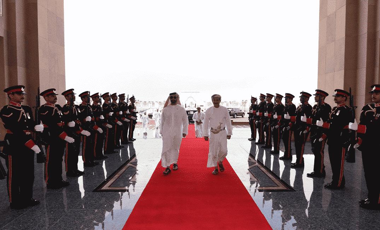 طحنون بن زايد في سلطنة عمان