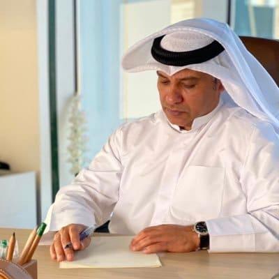 للإعلامي الكويتي محمد جعفر