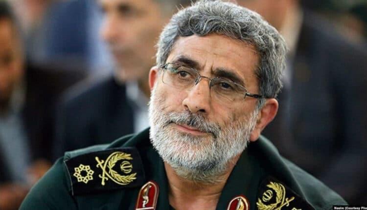 العميد إسماعيل قاني قائدا لفيلق القدس