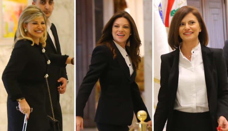 وزيرات لبنان الجدد