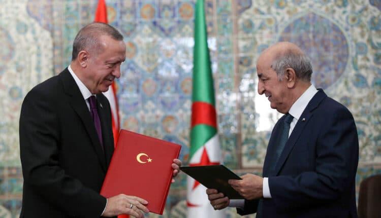 اردوغان في الجزائر