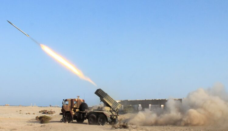 صواريخ الحوثيين على السعودية
