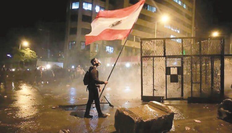تظاهرات في لبنان