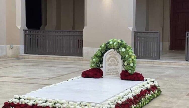 قبر السلطان قابوس