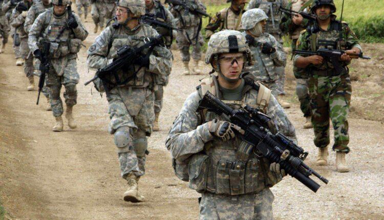 جنود أمريكيين في بغداد