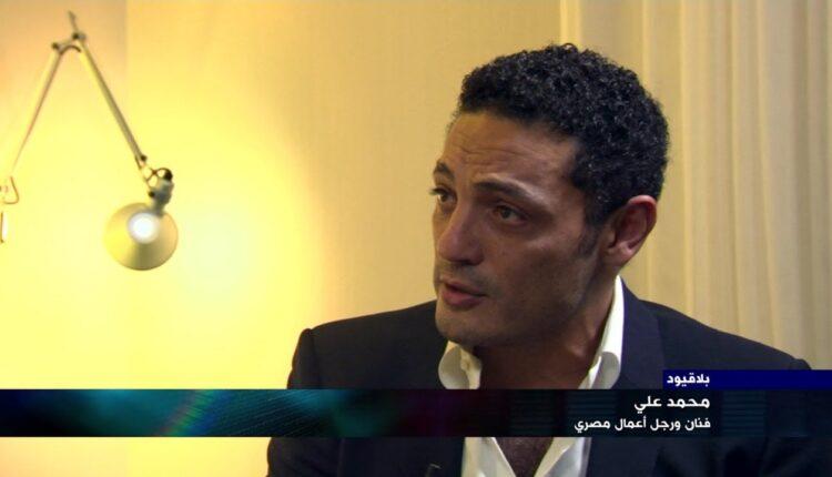 رجل الاعمال والفنان المصري محمد علي