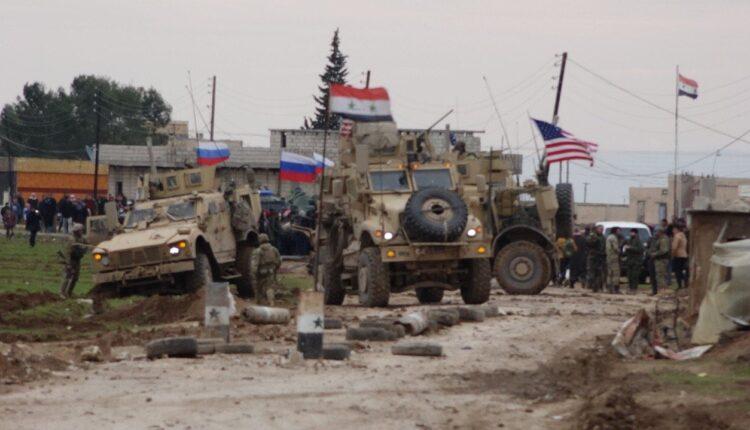 أهالي قرية خربة عمو السورية ودورية أمريكية