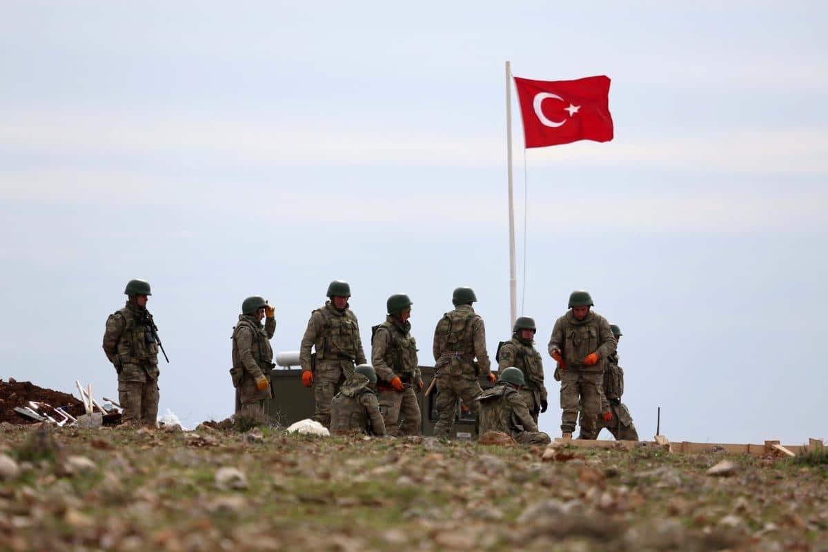 جنود اتراك في سوريا