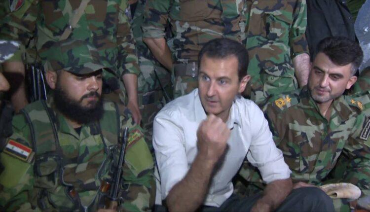 جنود بشار الاسد