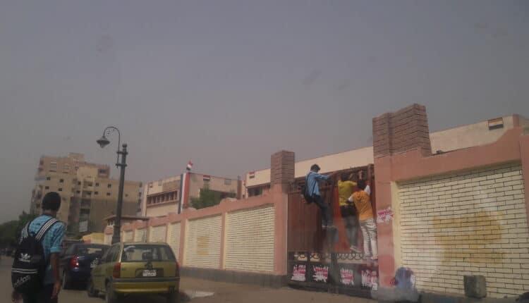 هروب جماعي للطلاب في مصر