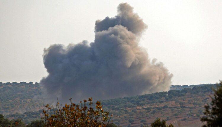 لحظة قتل العشرات من قوات نظام بشار الاسد في ادلب