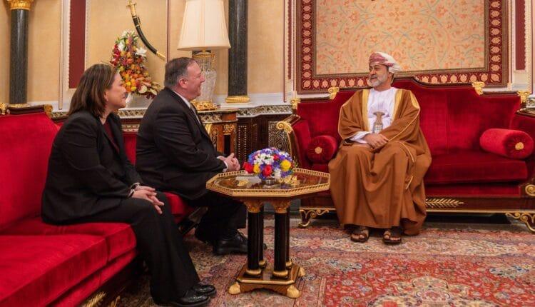 وزير الخارجية الامريكي بومبيو في سلطنة عمان