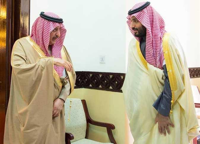 محمد بن سلمان واحمد بن عبدالعزيز