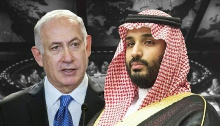 نتنياهو ومحمد بن سلمان